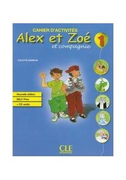 Alex et Zoe 1 ćwiczenia + CD, nowa