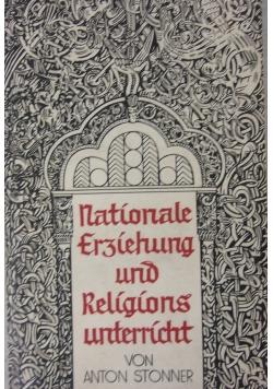 Nationale und Srjiebung und Religionsuntrrich 1934 r.