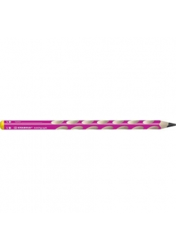 Ołówek Easygraph HB różowy dla lewor (6szt)STABILO