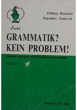 Grammatik? Kein Problem!, cz I