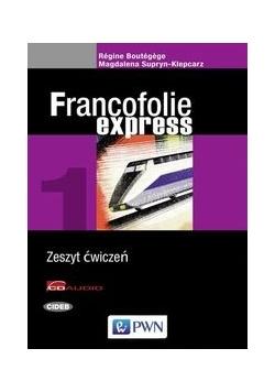 Francofolie express 1 Zeszyt ćwiczeń + 2CD
