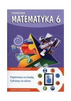 Matematyka 6. Podręcznik + multipodręcznik, GWO, nowa
