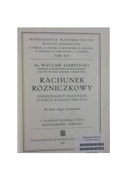 Rachunek różniczkowy, 1947 r.