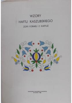 Teczka Wzorów Haftu Kaszubskiego - Wzory Zofii Formeli z Kartuz