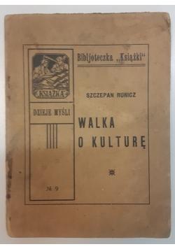 Walka o kulturę, 1923 r