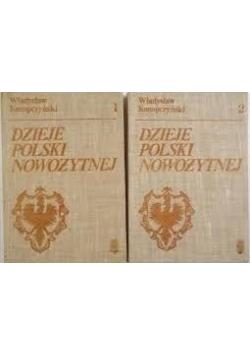 Dzieje Polski Nowożytnej Tom I-II