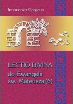 Lectio Divina do Ewangelii Mateusza