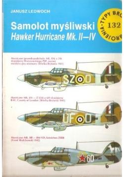 Samolot myśliwski Hawker Hurricane Mk. II-IV