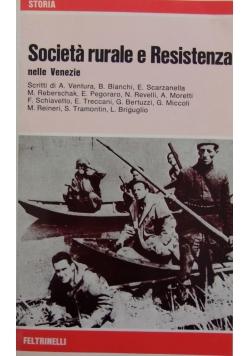 Societa rurale e Resistenza