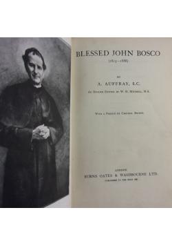Blessed John Bosco, 1930r.