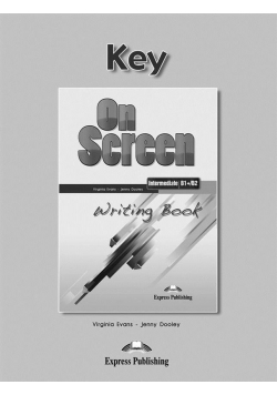 On Screen Inter. B1+/B2 Writing Book Key