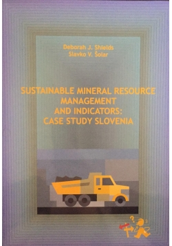 Sustainable mineral resource management and indicators