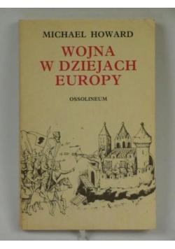 Wojna w dziejach Europy