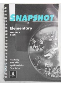 Snapshot. Elementary Teacher's Book