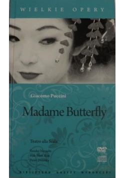 Madame Butterfly. Wielkie Opery, DVD + CD