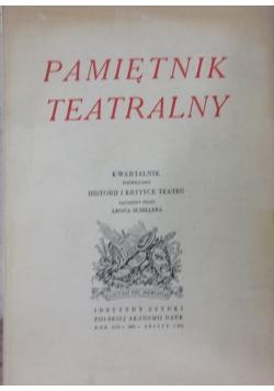 Pamiętnik teatralny 1(65)