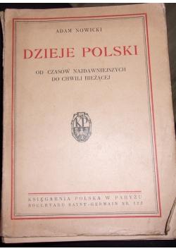 Dzieje Polski od czasów Najdawniejszych do chwili bieżącej, 1946r.