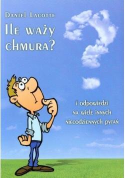Ile waży chmura?
