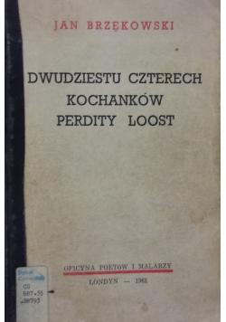 Dwudziestu czterech kochanków Perdity Loos
