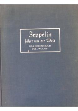 Zeppelin fahrt um die Welt, 1929r.