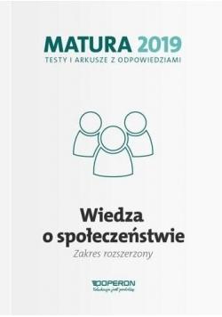 Matura 2019 WOS. Testy i arkusze ZR OPERON
