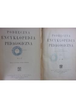 Podręczna Encyklopedja Pedagogiczna ,Tom I,II ,1923r.