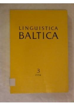 Linguistica Baltica, vol. 3