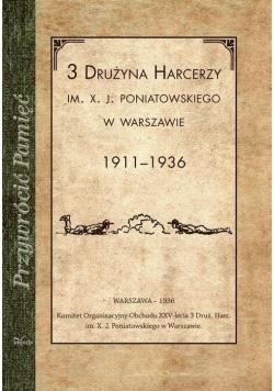 3 Drużyna harcerzy im. X. J. Poniatowskiego w Warszawie