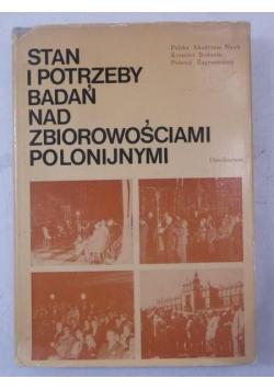 Stan i potrzeby badań nad zbiorowościami polonijnymi
