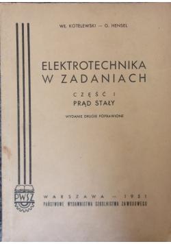 Elektrotechnika w zadaniach, część I - prąd stały