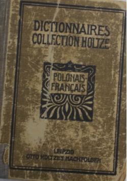 Słownik podręczny Francusko-Polski i Polsko-Francuski, 1919 r.