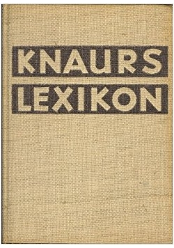 Knaurs lexikon
