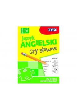 Język angielski - gry słowne (poziom B1) REA