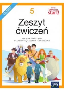 J.Polski SP  5 Nowe Słowa na start! ćw NE