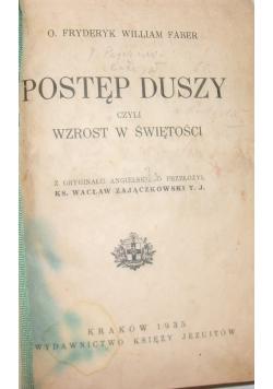 Postęp duszy, 1935 r.