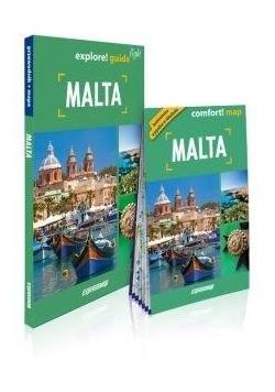 Explore! guide Malta (przewodnik + mapa)