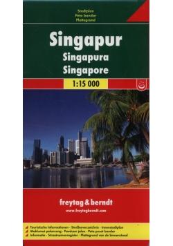 Singapur mapa miasta 1:15 000