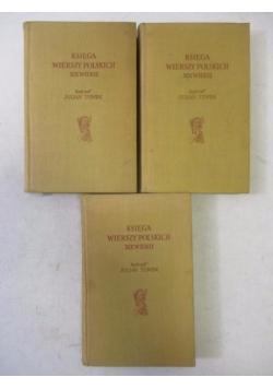 Księga wierszy polskich XIX wieku, Tom I-III