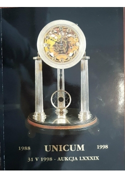 Dom Aukcyjny UNICUM. Aukcja LXXXIX