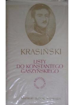 Listy do Konstantego Gaszyńskiego