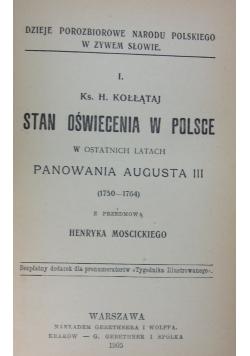 Stan oświecenia w Polsce, 1905r.