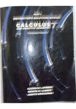 Part i instructor's solutions manual