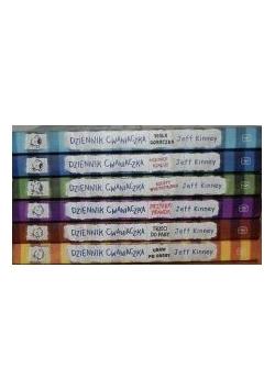 Dziennik cwaniaczka - zestaw 5 książek
