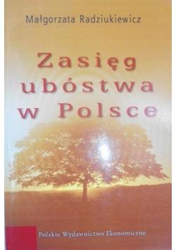 Zasięg ubóstwa w Polsce