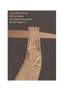 La litterature polonaise...