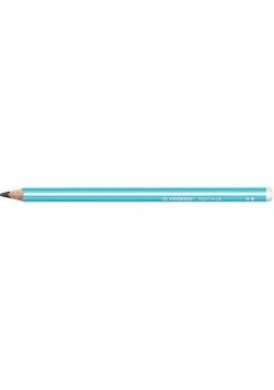 Ołówek Trio Thick HB niebieski (12szt) STABILO