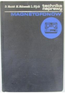 Technika naprawy magnetofonów