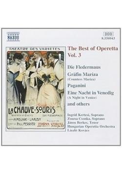 The best of Operetta Vol. 3 CD