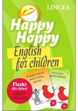Happy Hoppy Fiszki. Angielski. Cechy i relacje