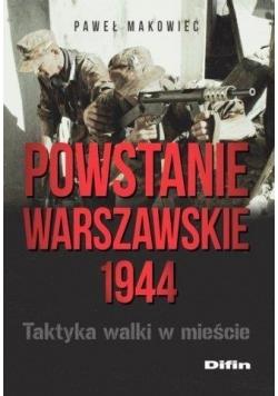 Powstanie Warszawskie 1944. Taktyka walki w mieści